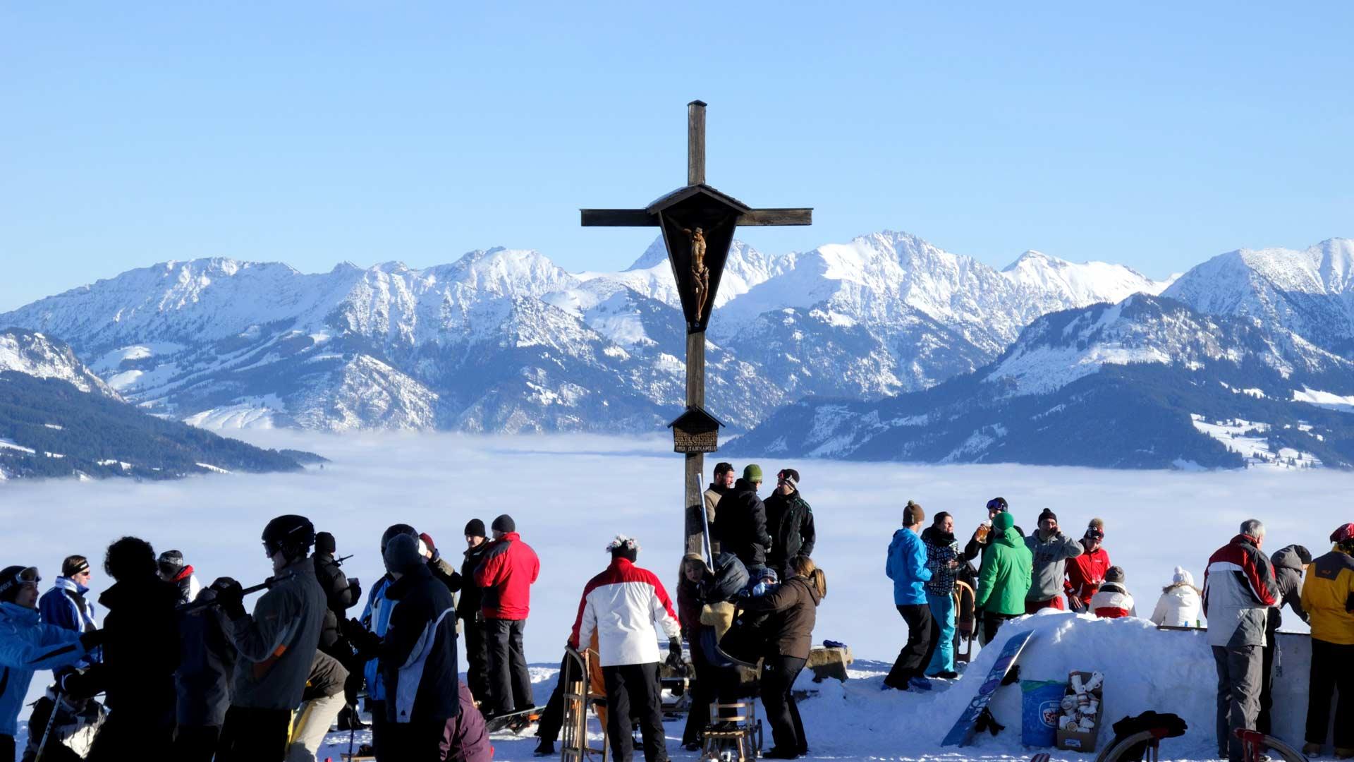 Schneehöhen Tegelberg - Schwangau - Neuschneefall & Berichte